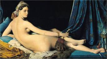 Ingres, La Grand Odalisque, 1814