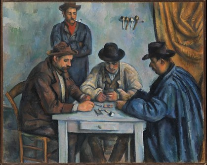 Paul Cezanne, Card Players, 1890-92