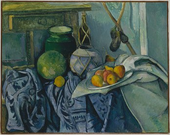 Paul Cézanne, Still Life with a Ginger Jar and Eggplants, 1893–94