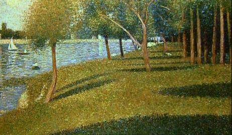 Georges Seurat, a study for La Grande Jatte