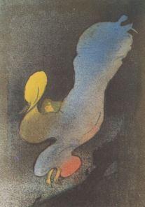Henri de Toulouse Lautrec, Loie Fuller aux Folies Bergères, 1893