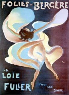 Henri Toulouse- Lautrec, Loïe Fuller poster