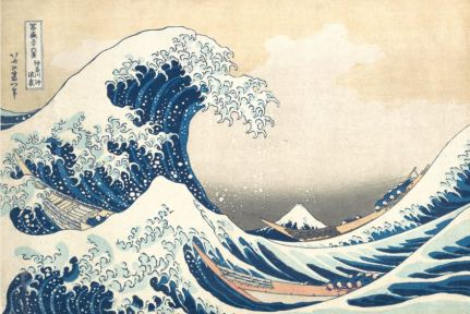 Katsuskika Hokusai, Under the Wave off Kanagawa, c1830-32