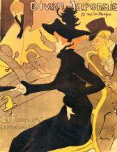 Toulouse Lautrec, Divan Japonais, 1892-1893