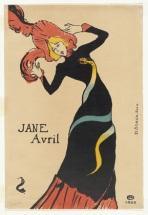 Toulouse Lautrec, Jane Avril, 1899