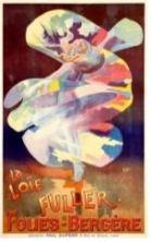 Toulouse-Lautrec, Loie Fuller poster