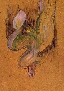 Toulouse-Lautrec, study for Miss Loie Fuller