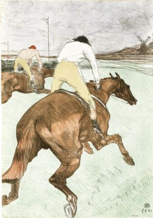 Toulouse - Lautrec, The Jockey