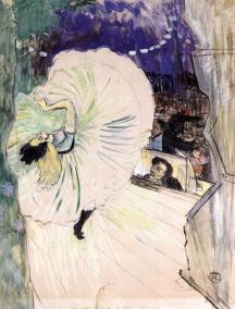 Toulouse-Lautrec, The Wheel, Loie Fuller, 1893