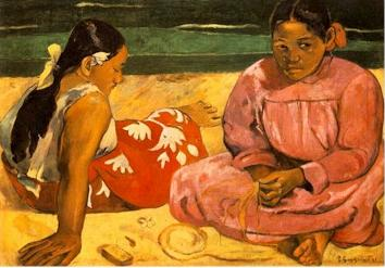 Paul Gauguin, Tahitian Women on the Beach, 1891