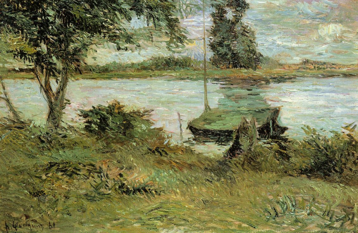 Paul Gauguin, Banks of the Oise, 1881