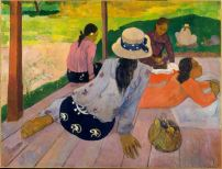 Paul Gauguin, The Siesta c1892 - 1894