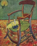 Van Gogh, Paul Gauguin's Armchair, 1888