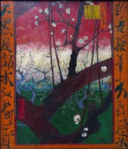 Van Gogh, The Blooming Plumtree (after Hiroshige), 1887