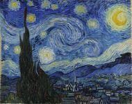 Van Gogh, The Starry Night, June 1889