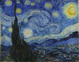 Van Gogh, The Starry Night, June 1889