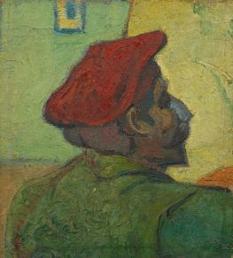 Vincent van Gogh, Portrait of Gauguin, 1888