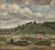 Vincent Van Gogh, The Hill of Montmartre with Stone Quarry, 1886