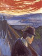 Edvard Munch, Despair, 1892