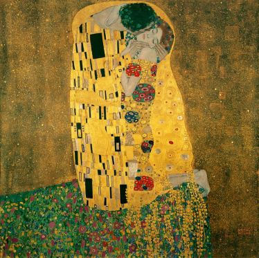 Gustave Klimt, The Kiss, 1908-09