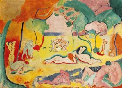Henri Matisse, Joy of Life, 1905-06