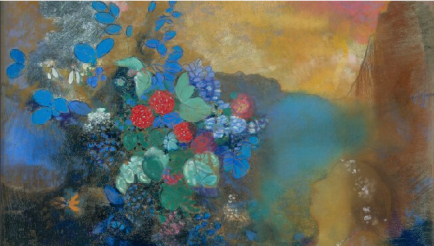 Odilon Redon, Ophelia among the Flowers, 1905-8