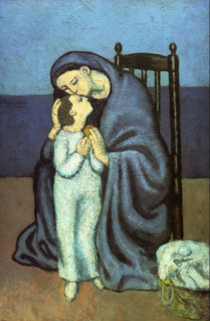Pablo Picasso, Motherhood, 1901