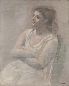 Pablo Picasso, Woman in White, 1923