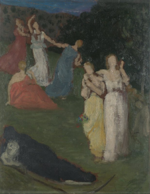 Pierre-Cécile Puvis de Chavannes, Death and the Maidens, 1872 (sketch)