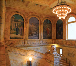 Pierre-Cécile Puvis de Chavannes, murals in Boston Public Library