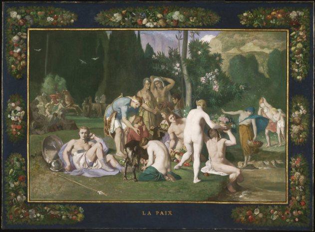 Pierre Puvis de Chavannes, Peace, 1861