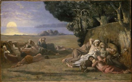 Pierre Puvis de Chavannes, Sleep, 1867-70