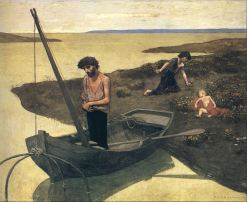 Pierre Puvis de Chavannes, The Poor Fisherman, 1881