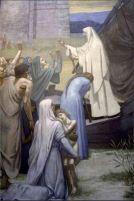 Puvis De Chavannes, St. Genevieve Bringing Supplies to the City of Paris after the Siege, (date unknown)