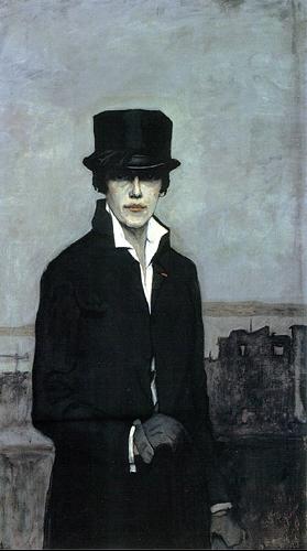 Romaine Brooks, Self Portrait, 1923