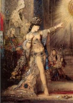 Gustave Moreau, The Apparition, detail