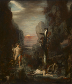 Gustave Moreau, Hercules and the Lernaean Hydra, 1875-6