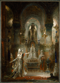 Gustave Moreau, Salome Dancing before Herod, 1874-76