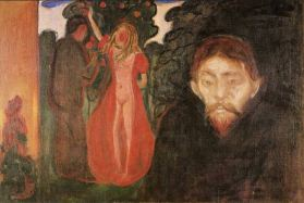 Edvard Munch, Jealousy, 1895