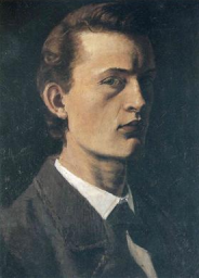 Edvard Munch, Self Portrait, 1881-2