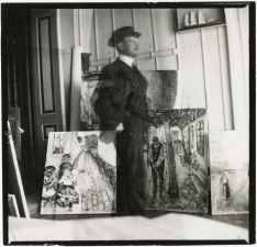 Edvard Munch, Self Portrait (photograph)