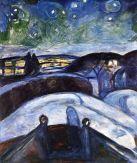 Edvard Munch, Starry Night, 1922-4