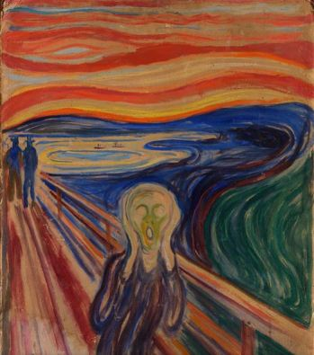 Edvard Munch, The Scream, 1910