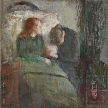 Edvard Munch, The Sick Child, 1885-86 (original version)