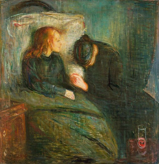 Edvard Munch, The Sick Child, 1896