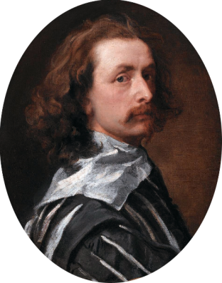 Anthony Van Dyck, Self Portrait, circa 1640
