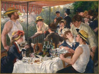 Pierre Auguste Renoir, Luncheon of the Boating Party, 1880-81