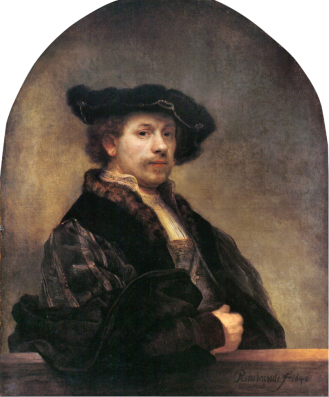 Rembrandt, Self Portrait 34, 1640