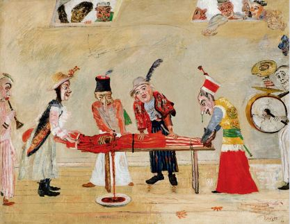 James Ensor, The Assassination, 1890