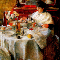 James Ensor, The Oyster Eater, 1882